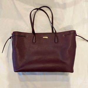 Kate Spade Maroon Tote Bag